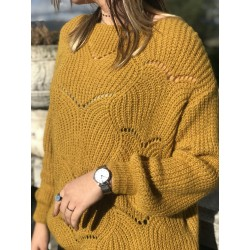 PULL maille ajouré  LOUANA